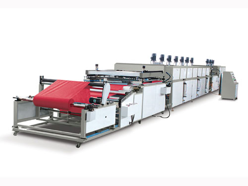 Auto Roll to Roll Non-woven Fabric Printing Machine